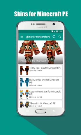 Skins for Minecraft PE 1 0 Download APK for Android - Aptoide
