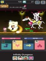 Infinity Dungeon VIP Screen
