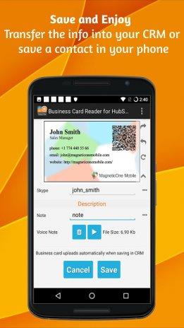 Business Card Reader For Hubspot Crm 1 1 126 Download Apk For