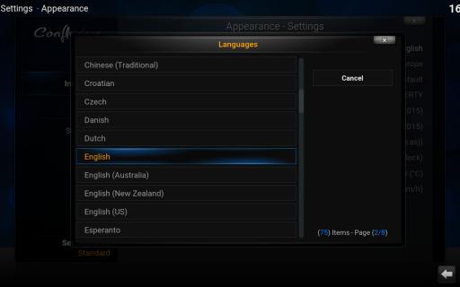 Kodi screenshot 8
