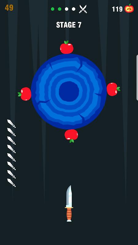 Throw Knife - The knife game challenge screenshot 1