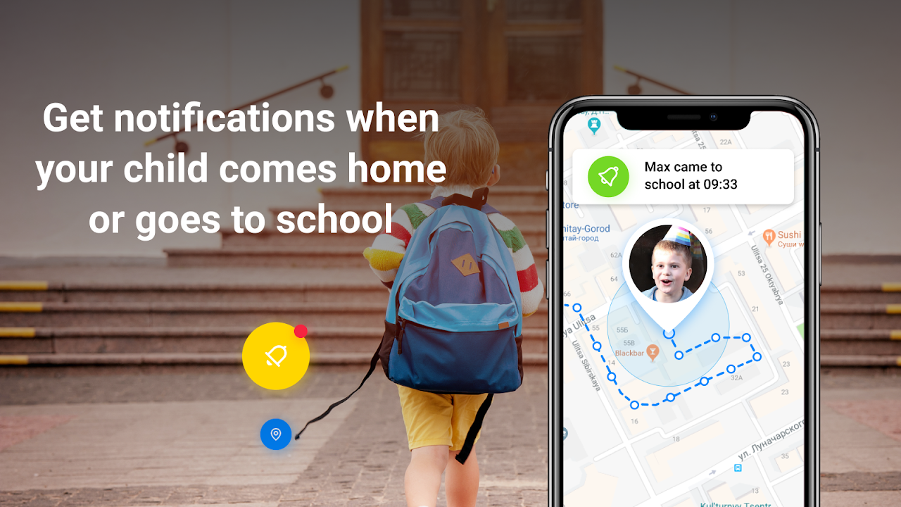Find My Kids: Child GPS-watch & Phone Tracker screenshot 1