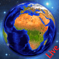 earth map live gps navigation route tracker icon