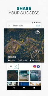 adidas Running by Runtastic - Fitness Run Tracker screenshot 2