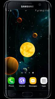 3D Solar System LWP screenshot 18