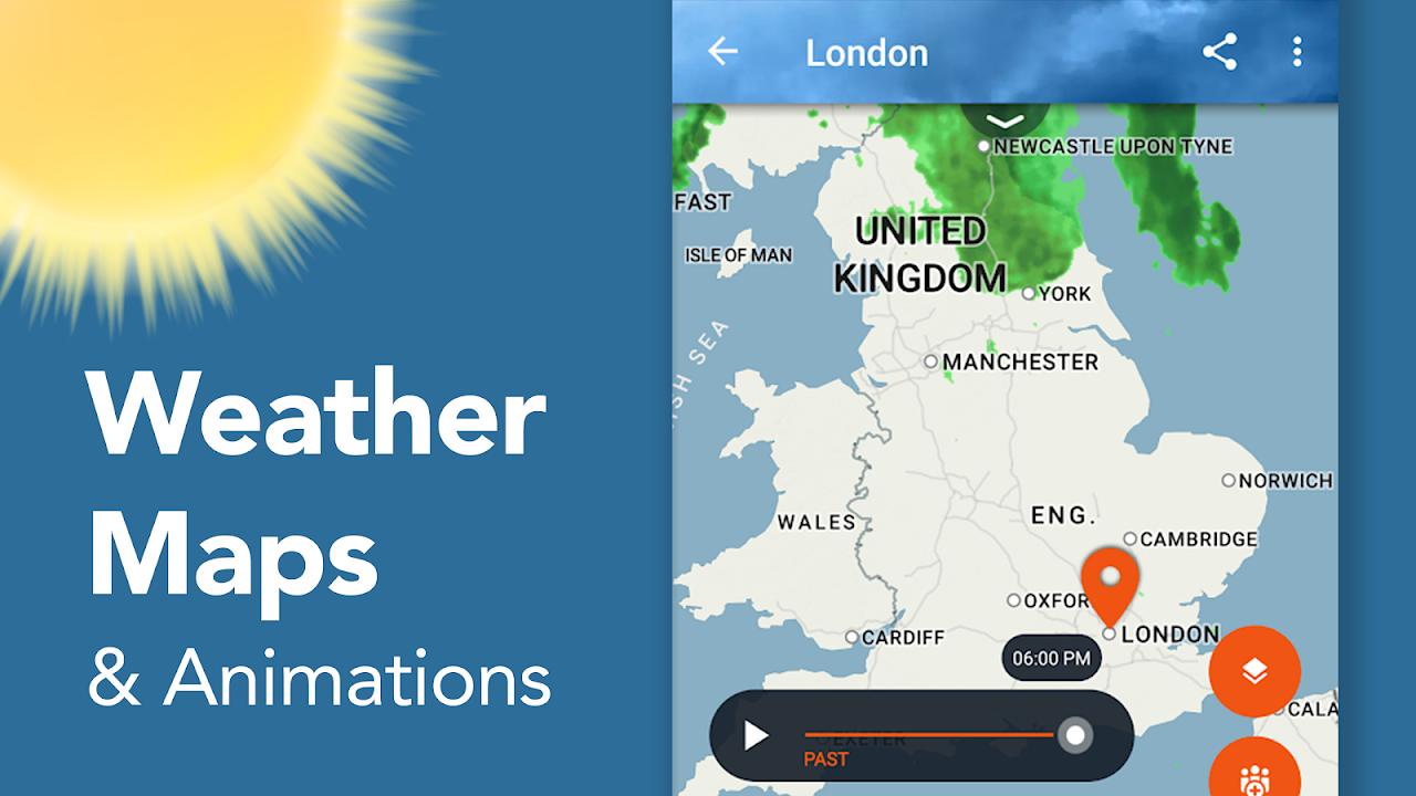 AccuWeather: Weather Radar & Live Rain Forecast screenshot 2