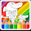 Zig and Sharko Coloring Book