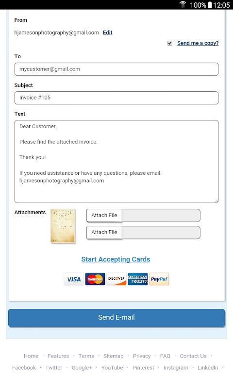 modelos de invoice gratis