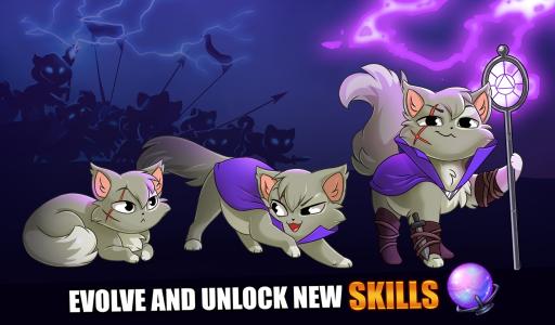 Castle Cats: Epic Story Quests screenshot 1