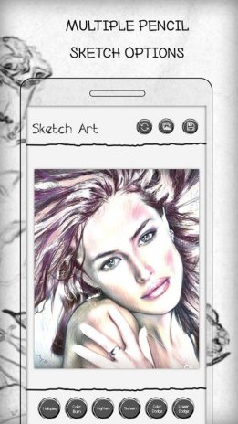 Pencil sketch art photo editor screenshot 1