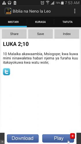Biblia Takatifu Ya Kiswahili 1 6 Download Android Apk Aptoide