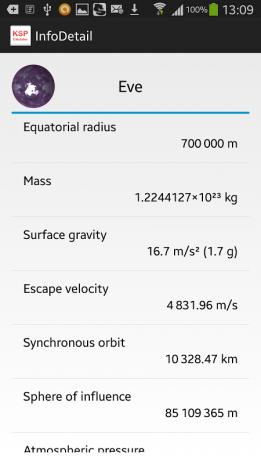 KSP DeltaV Calculator 2.3.0 Laden Sie APK für Android herunter - Aptoide