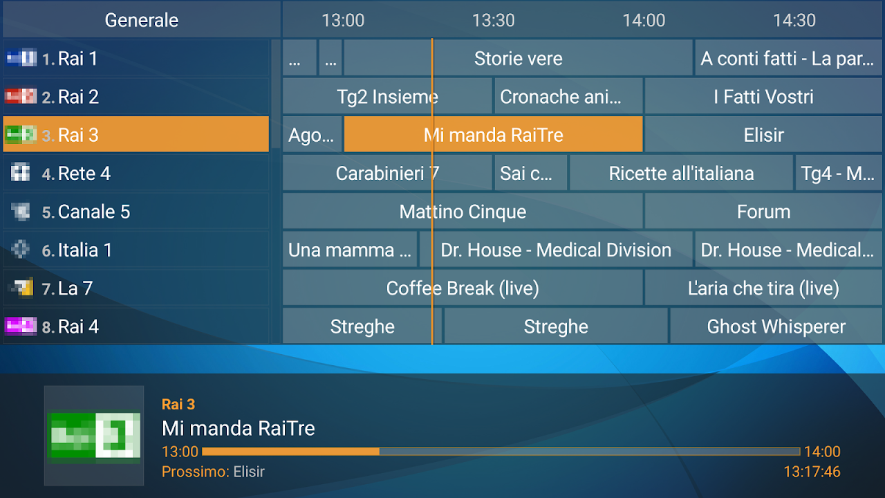 Perfect Player IPTV screenshot 2