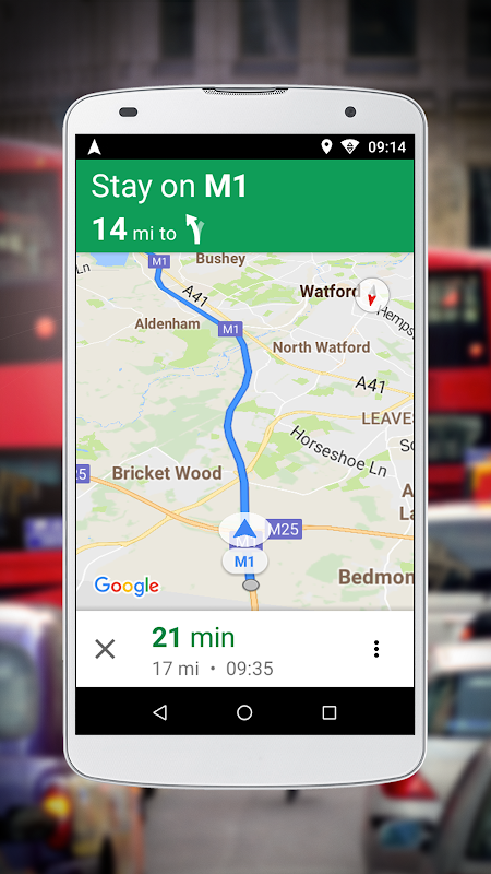 Navigation for Google Maps Go screenshot 2