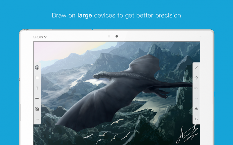 Elegant android Drawing App