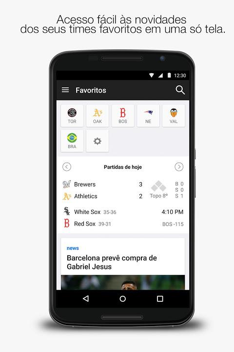 Yahoo Esportes screenshot 2
