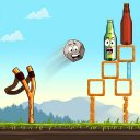 Sling King: Knock Down Bottle Shoot New Games 2020