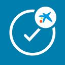CaixaBank Sign - Digital Coordinate Card