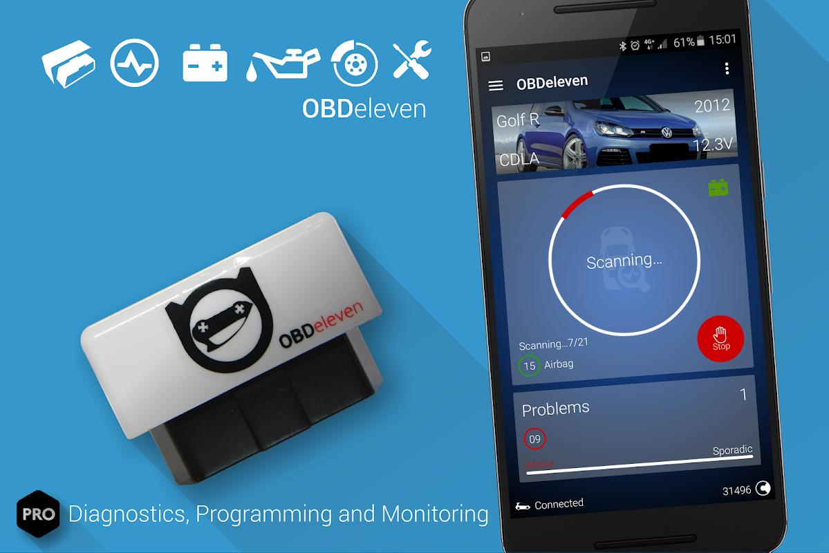 OBDeleven PRO car diagnostics app VAG OBD2 Scanner screenshot 9