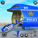 Grand Police Cargo Transport Truck:Car Parking Sim