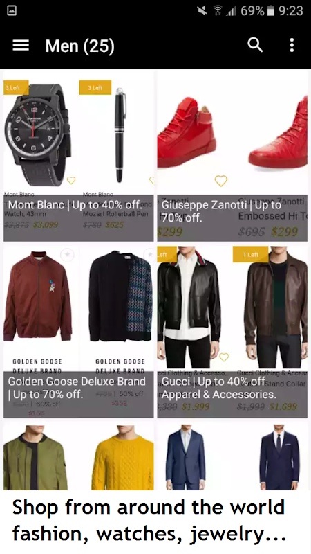 Luxury! - Deluxe deals, Shopping Luxury and style screenshot 6