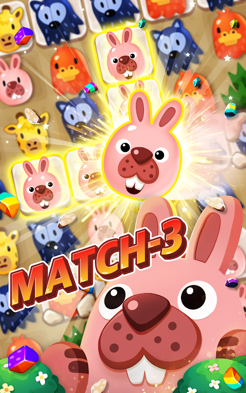 POKOPOKO The Match 3 Puzzle screenshot 1