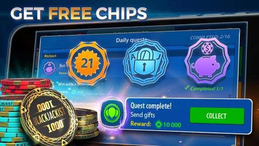 Blackjack 21 - Online Casino screenshot 7