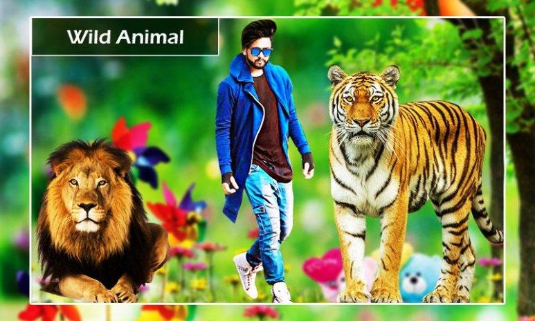 Wild Animal Photo Editor Animal Photo Frames New 1 1 Download Apk