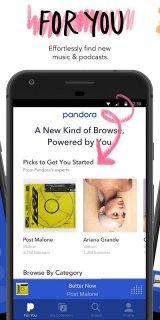 Pandora - Streaming Music, Radio & Podcasts screenshot 2
