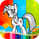 Coloring my little pony Games