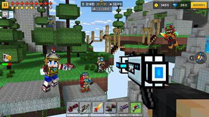 pixel gun 3d pocket edition screenshot 15