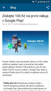 Aplikace od O2 screenshot 5