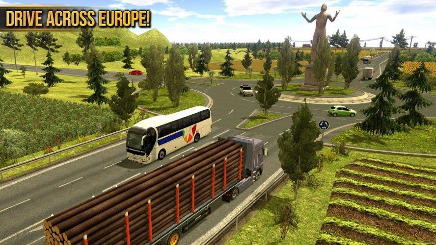 Camion Simulador 2018 : Europe screenshot 3