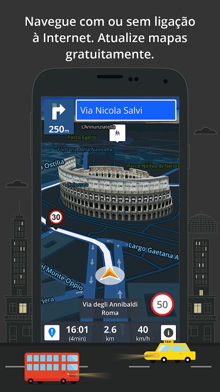 Navegação GPS e Mapas Sygic screenshot 2