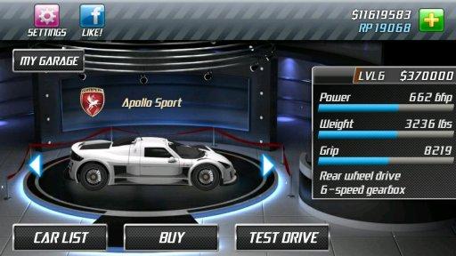 Drag Racing screenshot 15