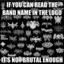 Metal Band Logos