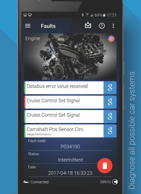 OBDeleven PRO car diagnostics app VAG OBD2 Scanner screenshot 4
