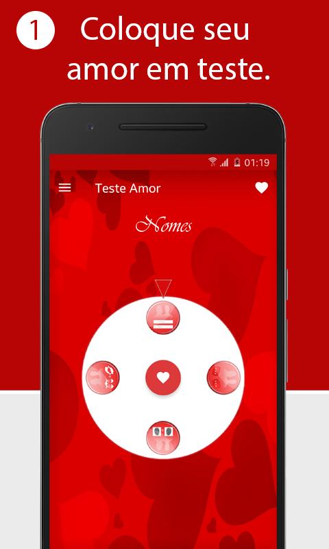 Calculadora do amor screenshot 2