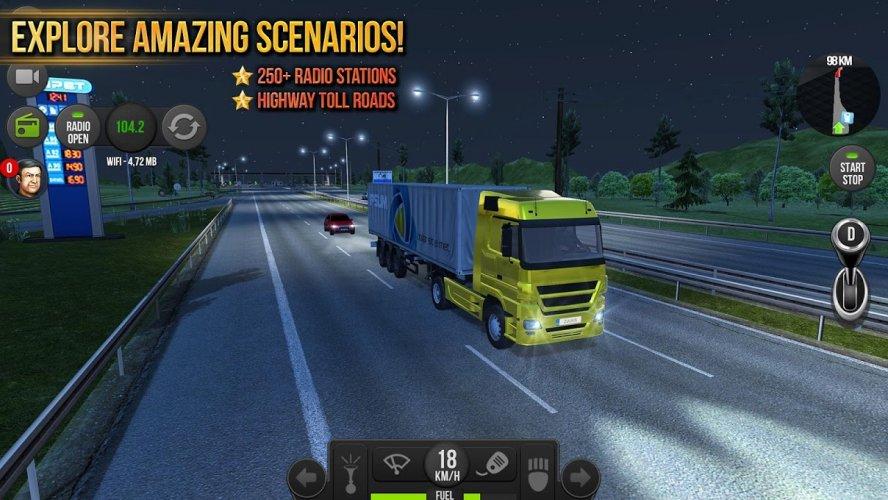 Camion Simulador 2018 : Europe screenshot 2
