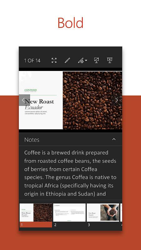 Microsoft PowerPoint screenshot 1