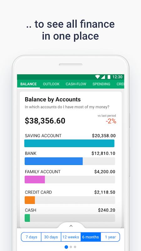 Wallet - Finance Tracker and Budget Planner screenshot 2