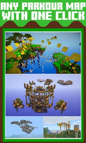 تحميل APK لأندرويد - آبتويد Maps for Minecraft PE Parkour1 0