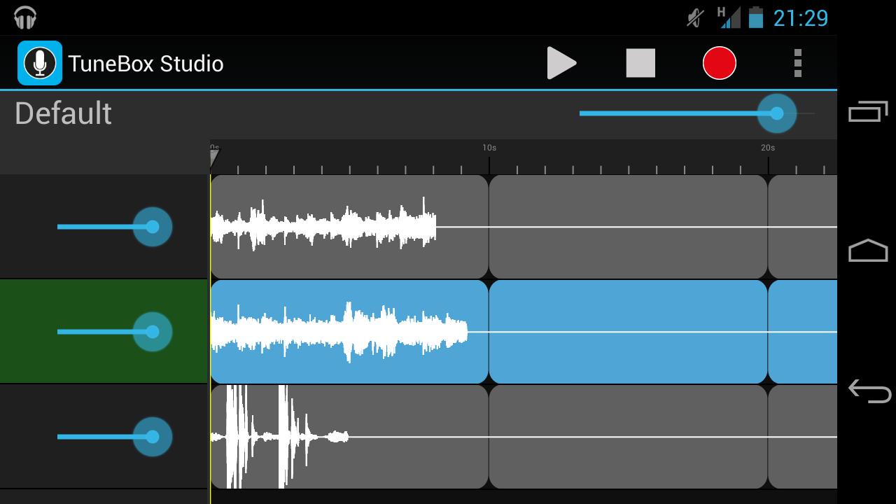 TuneBox Studio screenshot 1