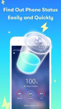 UFO Cleaner : Junk Clean + Task Killer & Booster 1 0 48 Download APK