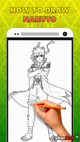 How To Draw Naruto Characters 1 0 Download Apk For Android Aptoide