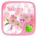 Sakura GO Keyboard Theme