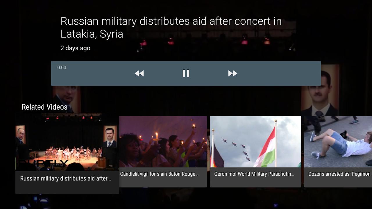 RT News for TV screenshot 2