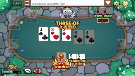Dummy & Toon Poker Texas slot Online Card Game screenshot 5