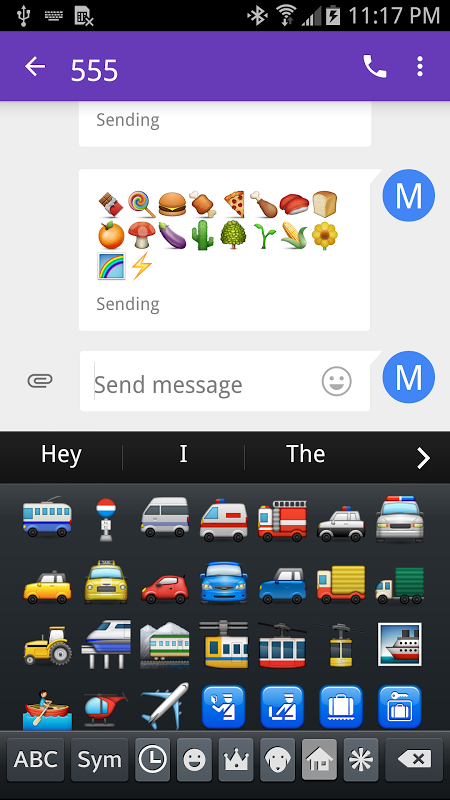Emoji Font 3 screenshot 2