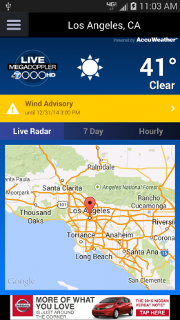 MEGADOPPLER – ABC7 LA WEATHER 3 4 0 Download APK for Android - Aptoide